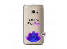 Coque HTC ONE M10 Je Peux Pas J Ai Yoga