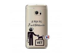 Coque HTC ONE M10 Je Peux Pas Je Suis Veterinaire