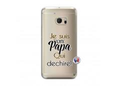 Coque HTC ONE M10 Je Suis Un Papa Qui Dechire