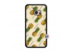 Coque HTC ONE M10 Sorbet Ananas Translu