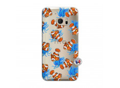 Coque HTC ONE M10 Poisson Clown