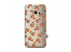 Coque HTC ONE M10 Petits Poissons Clown