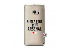 Coque HTC ONE M10 Rien A Foot Allez Arsenal
