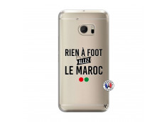 Coque HTC ONE M10 Rien A Foot Allez Le Maroc