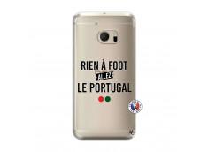 Coque HTC ONE M10 Rien A Foot Allez Le Portugal