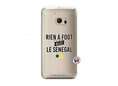 Coque HTC ONE M10 Rien A Foot Allez Le Senegal