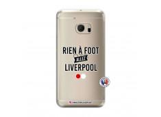 Coque HTC ONE M10 Rien A Foot Allez Liverpool