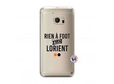 Coque HTC ONE M10 Rien A Foot Allez Lorient