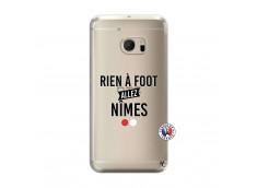 Coque HTC ONE M10 Rien A Foot Allez Nimes