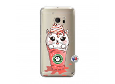 Coque HTC ONE M10 Catpucino Ice Cream