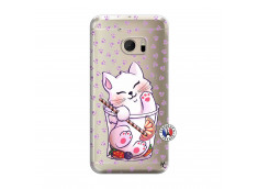 Coque HTC ONE M10 Smoothie Cat