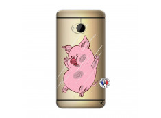 Coque HTC ONE M7 Pig Impact
