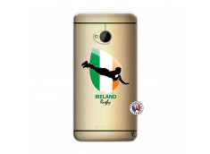 Coque HTC ONE M7 Coupe du Monde Rugby-Ireland