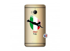 Coque HTC ONE M7 Coupe du Monde Rugby-Italy