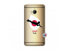 Coque HTC ONE M7 Coupe du Monde Rugby-Japan