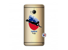 Coque HTC ONE M7 Coupe du Monde Rugby-Samoa