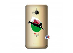 Coque HTC ONE M7 Coupe du Monde Rugby-Walles