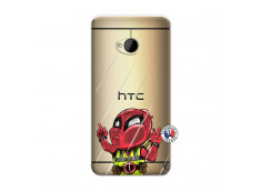 Coque HTC ONE M7 Dead Gilet Jaune Impact