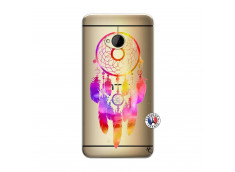 Coque HTC ONE M7 Dreamcatcher Rainbow Feathers