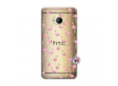 Coque HTC ONE M7 Flamingo