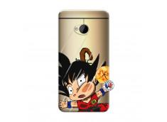 Coque HTC ONE M7 Goku Impact