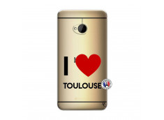 Coque HTC ONE M7 I Love Toulouse