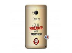 Coque HTC ONE M7 J Peux Pas J Ai Un Braquage Avec Le Professeur