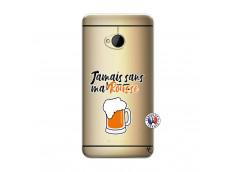 Coque HTC ONE M7 Jamais Sans Ma Rousse