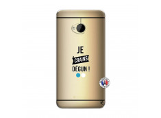 Coque HTC ONE M7 Je Crains Degun