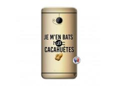Coque HTC ONE M7 Je M En Bas Les Cacahuetes