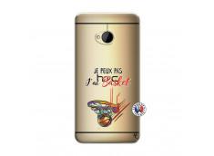 Coque HTC ONE M7 Je Peux Pas J Ai Basket