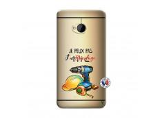 Coque HTC ONE M7 Je Peux Pas J Ai Bricolage