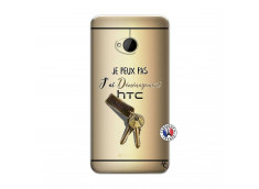 Coque HTC ONE M7 Je peux pas j'ai déménagement