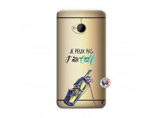 Coque HTC ONE M7 Je Peux Pas J Ai Golf
