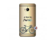 Coque HTC ONE M7 Je Peux Pas J Ai Velo