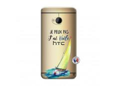 Coque HTC ONE M7 Je Peux Pas J Ai Voile
