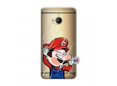 Coque HTC ONE M7 Mario Impact