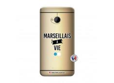 Coque HTC ONE M7 Marseillais à Vie