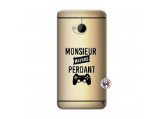 Coque HTC ONE M7 Monsieur Mauvais Perdant