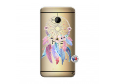Coque HTC ONE M7 Multicolor Watercolor Floral Dreamcatcher