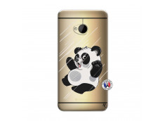 Coque HTC ONE M7 Panda Impact