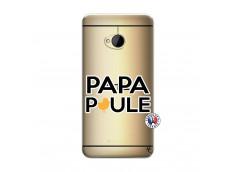 Coque HTC ONE M7 Papa Poule