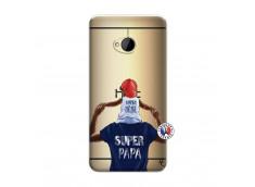 Coque HTC ONE M7 Papa Super Heros