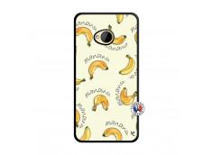 Coque HTC ONE M7 Sorbet Banana Split Noir