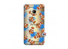 Coque HTC ONE M7 Poisson Clown