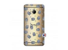 Coque HTC ONE M7 Petits Hippos