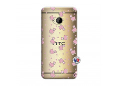 Coque HTC ONE M7 Petits Moutons