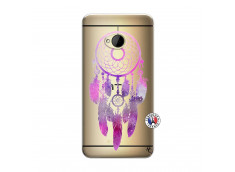 Coque HTC ONE M7 Purple Dreamcatcher