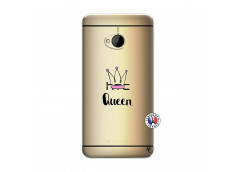 Coque HTC ONE M7 Queen