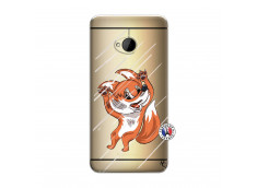 Coque HTC ONE M7 Fox Impact